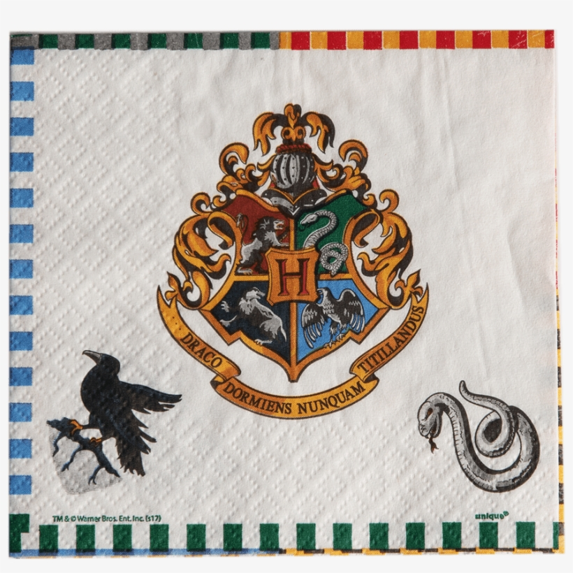 photo about Hogwarts Crest Printable known as Harry Potter Napkins Tiny Opposite - Unique Hogwarts Crest