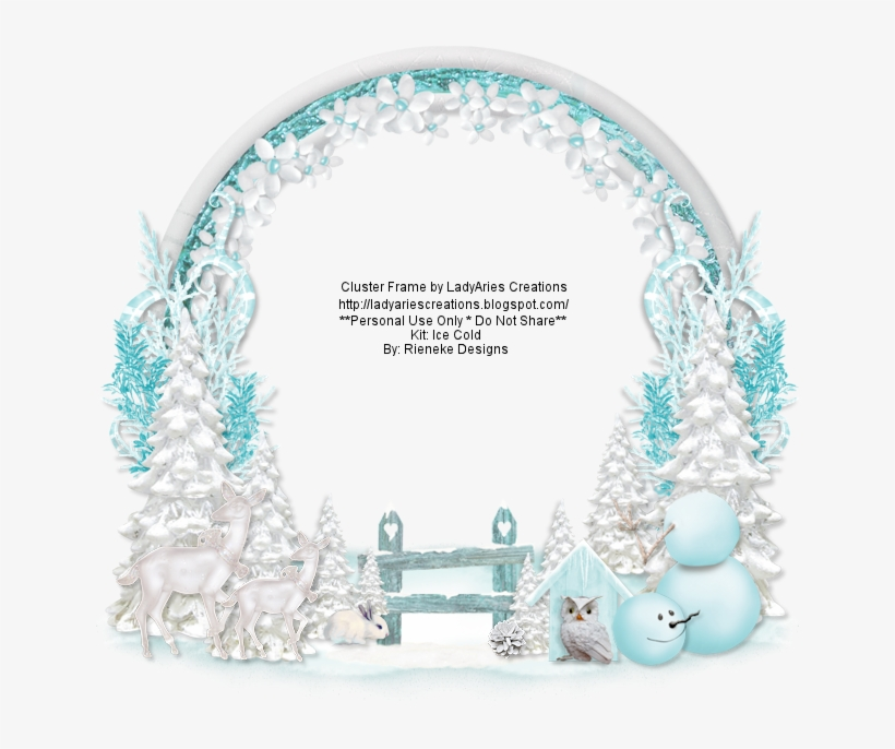 Ice Cold Cluster ~ Rieneke Designs Ct - Cluster Winter, transparent png #5951645