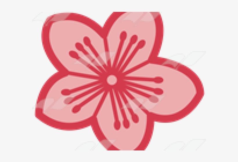 Single Clipart Cherry Blossom - Cherry Blossom, transparent png #5953972