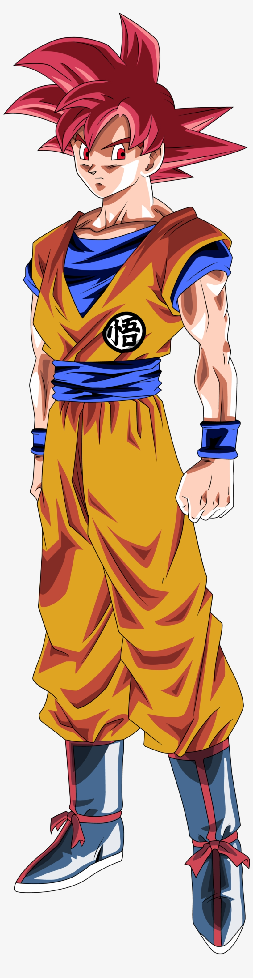 Dragon Ball Gt, Dragon Ball Image, Anime Manga, Goku - Goku Super Saiyan God Png, transparent png #5960785