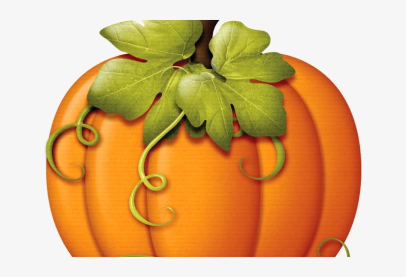 Pumpkin Leaf Cliparts - Pumpkin Fall Clip Art, transparent png #5961202