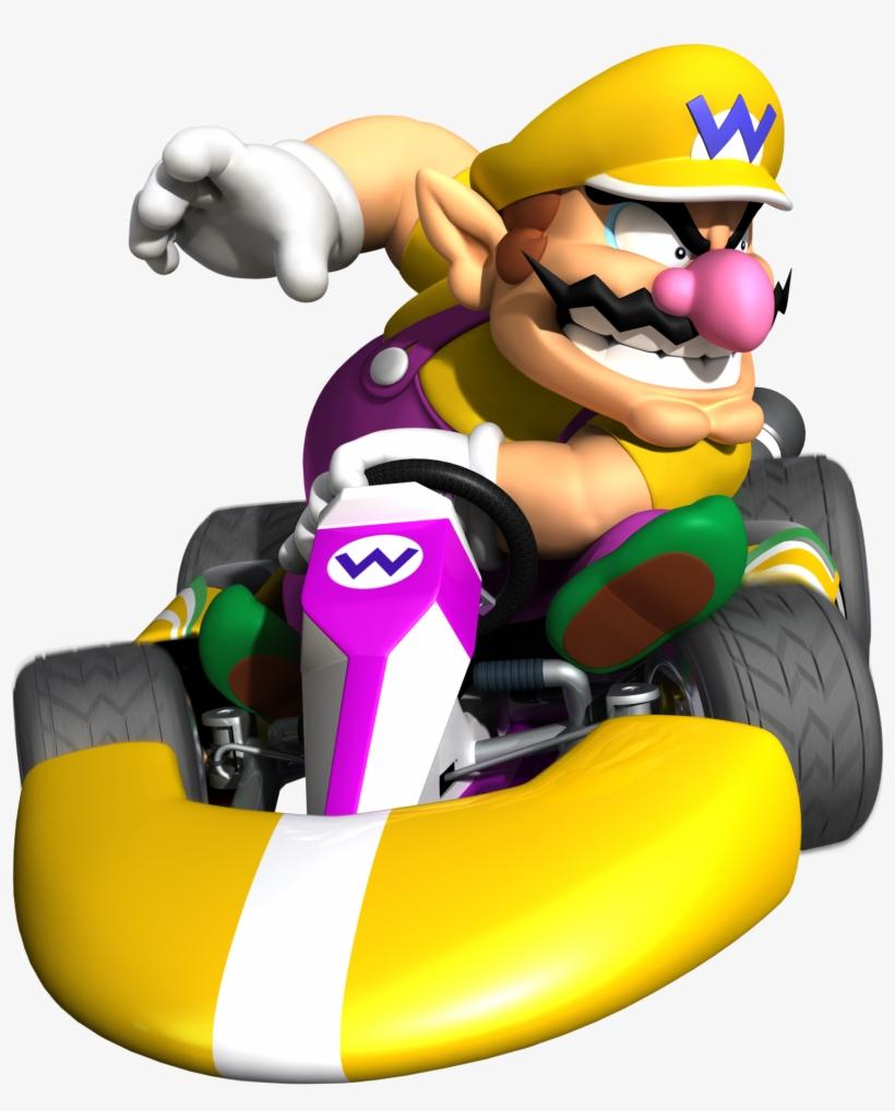 Wario Mario Kart 8 Characters Wario Free Transparent Png