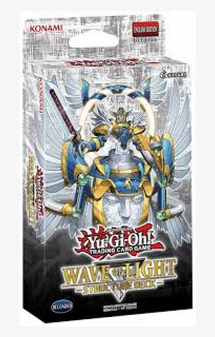 Wholesale Yu Gi Oh Uk Best Prices - Yu Gi Oh! Tcg Wave Of Light Structure Deck, transparent png #5978851