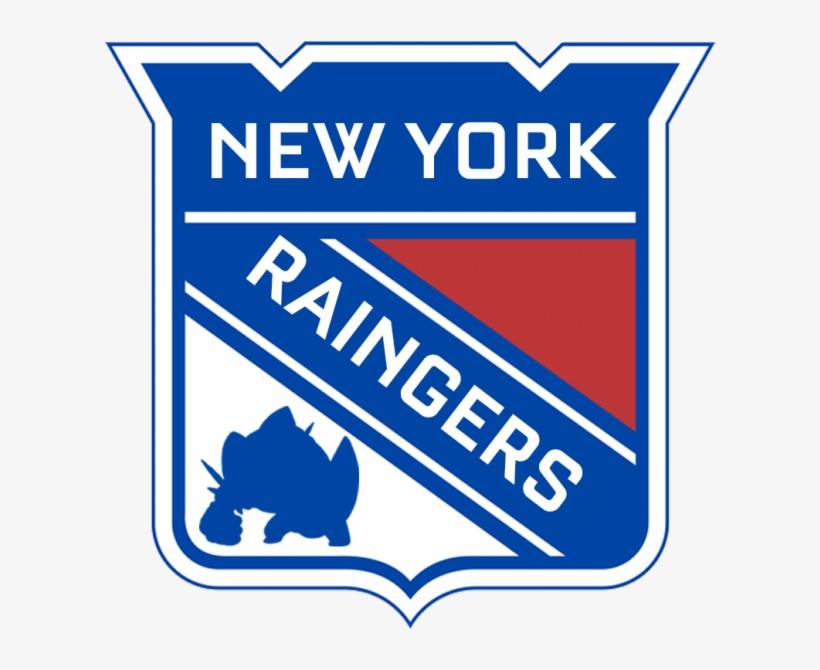 New York Raingers - New York Rangers, transparent png #5985798
