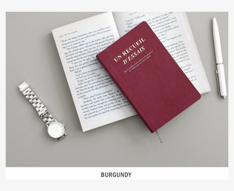 Iconic Essay Book Notebook V - Full House Iconic - Planner (s) Burgundy One Size, transparent png #5985802
