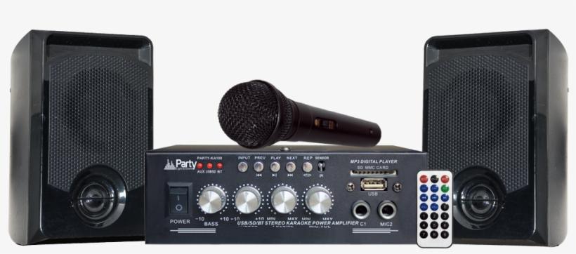 Party-ka100 Karaoke System - Party Light And Sound Party-ka100 Karaoke System, transparent png #5986825