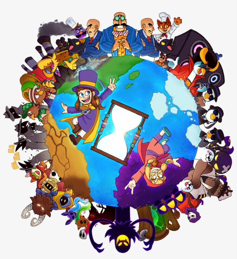 Happy 1st Anniversary To A Hat In Time I Love This - Video Game, transparent png #5989545