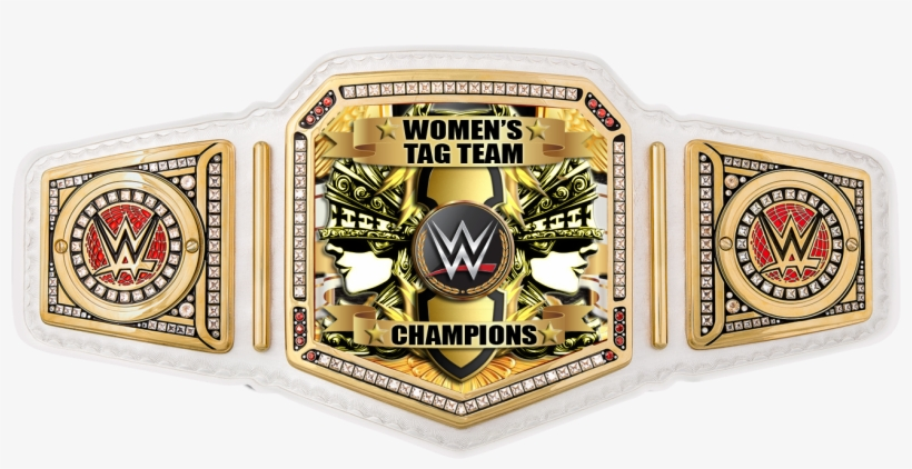 Custom Wwe Womens Tag Team Championship Belt - Wwe Absolutely Everything You Need To Know, transparent png #5990646