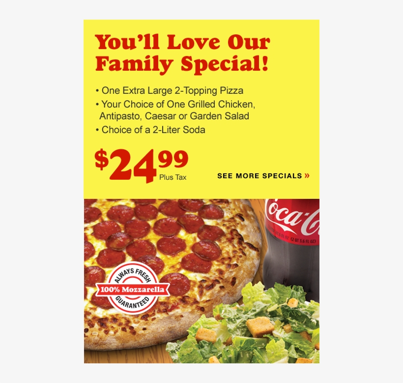 Picture Of The Family Special Menu Item - Tomato I Say Shut Up, transparent png #5996517