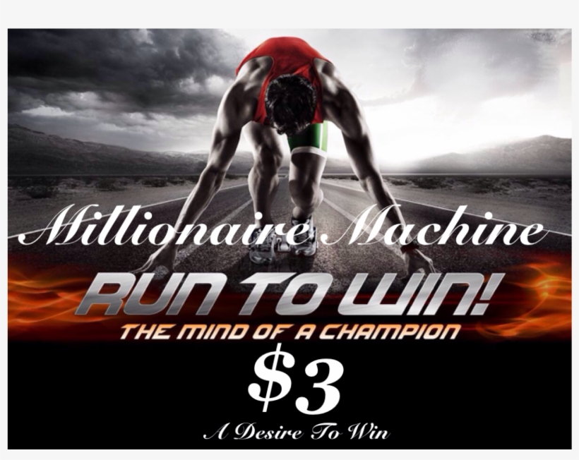 Millionaire Machine It's Not Money Falling From The - Plan Your Run, Run Your Plan Running Journal, transparent png #60553