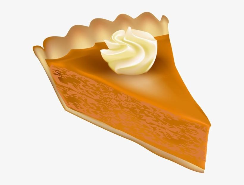 35720376 - Pumpkin Pie Clip Art, transparent png #60871