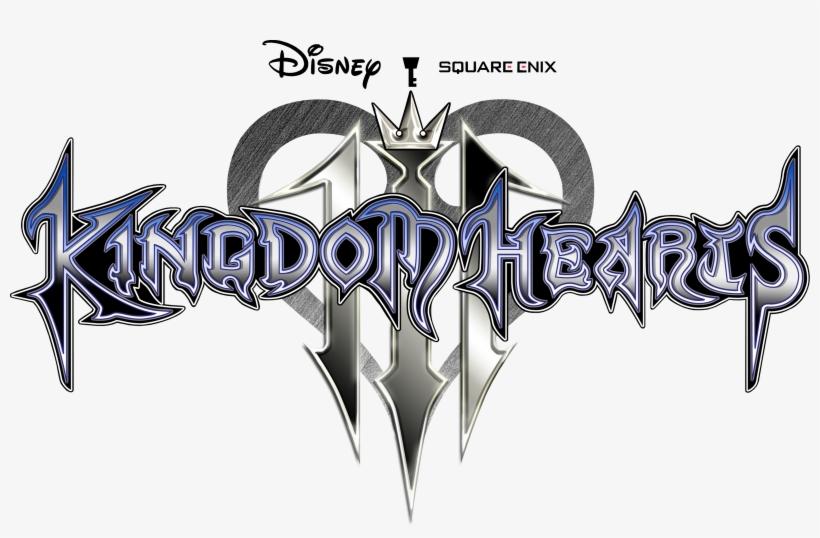 Kingdom Hearts 3 Logo Png Image - Kingdom Hearts 3 Title, transparent png #61337