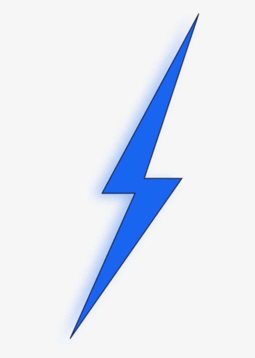 Blue Lightning Bolt Png, transparent png #61581