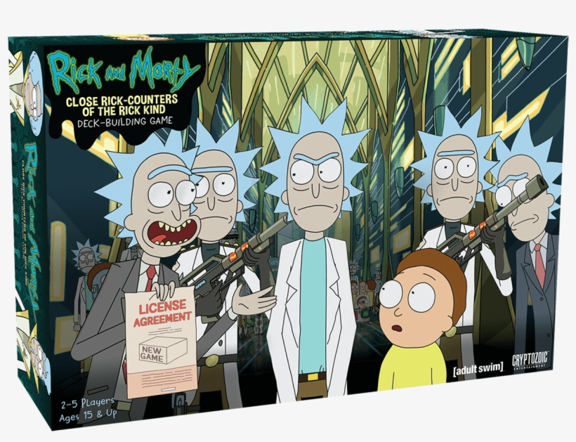 Rick And Morty Close Rick Counters Of The - Rick And Morty Deck Building Game, transparent png #63471
