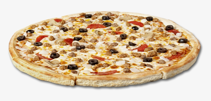 Combo Beef, Sausage, Pepperoni, Onions, Black Olives, - Beef Mushroom Pizza Png, transparent png #63969