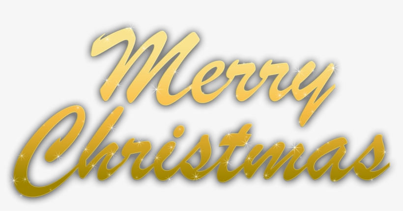 Free Icons Png - Merry Christmas Transparent Overlay - Free