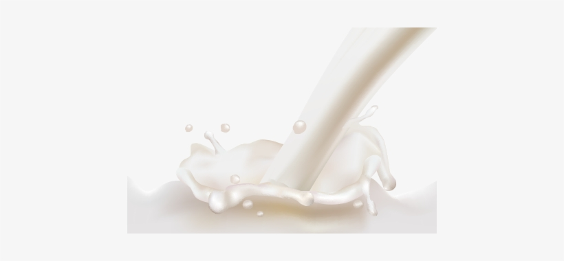 Milk Splashes Png - Milk Png, transparent png #64735