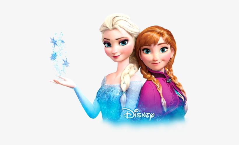 Transparent Anna And Elsa Wallpaper In The Frozen Club - Elsa Y Anna Png, transparent png #64828