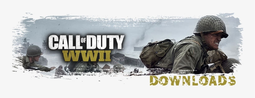Codwwii Down - Call Of Duty: World War 2 Pro Edition (ps4), transparent png #64944