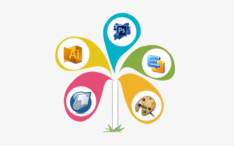 Our Service Of Graphic Design, transparent png #65702