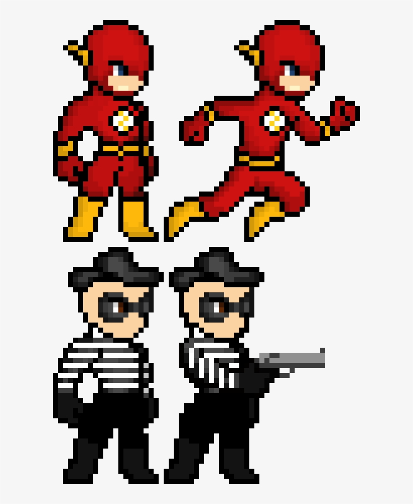 The Flash Pixel Art Collection Flash Pixel Art Maker Free Transparent Png Download Pngkey