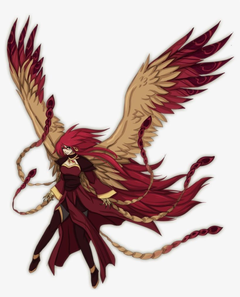 Phoenix Drawing Anime Phoenix Anime Transparent Free Transparent