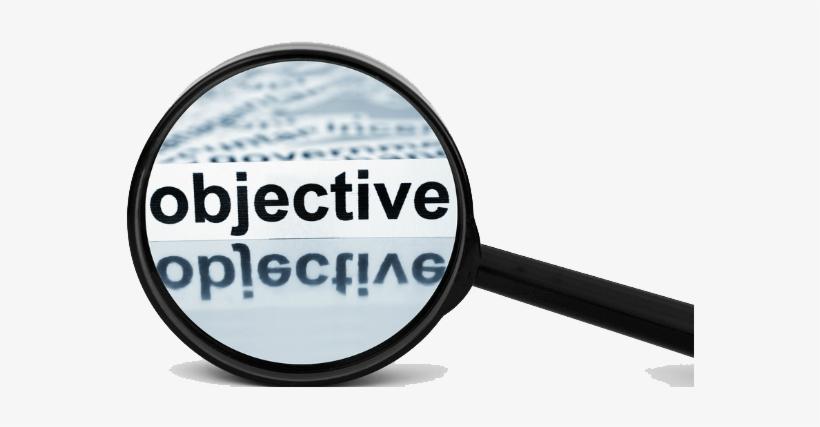 Objective Png Download Image - Etiquettes Pour Tableaux Blancs - Gestion Financière, transparent png #66621