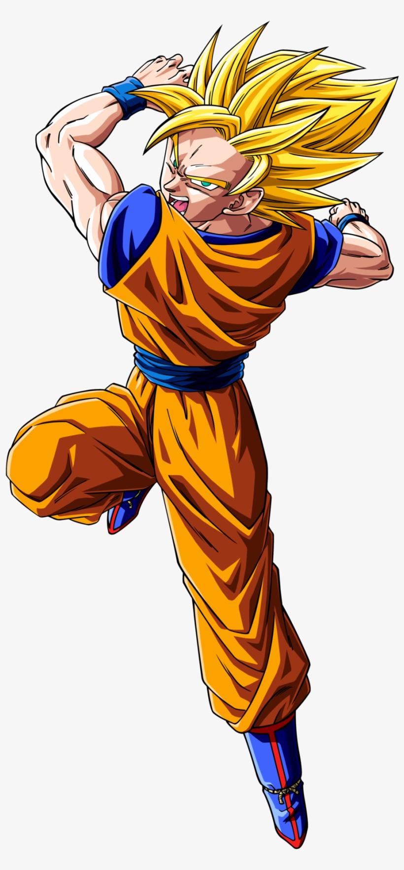 Goku Ssj - Dibujos De Dragon Ball Super Goku Ssj, transparent png #67295