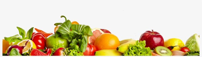Food Services - Fruits And Vegetables Border, transparent png #67590