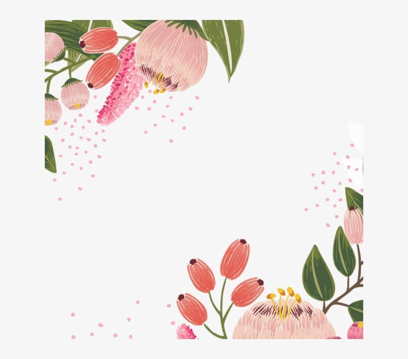 Bloom Vector Vintage Flores Png Free Transparent Png Download