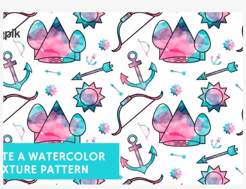 How To Create A Watercolor Texture Pattern Free Adobe - Watercolor Painting, transparent png #67970