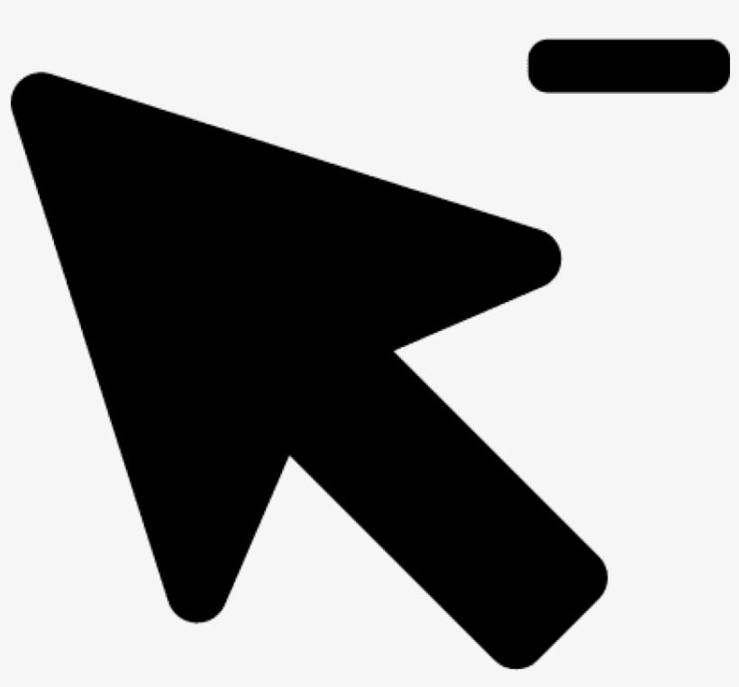 Mouse Cursor Vector - Png Click Arrow Icon, transparent png #68371