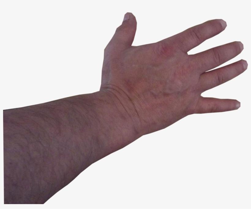 Man Hand Model Stock Pose - Black Man Hand Transparent, transparent png #68399