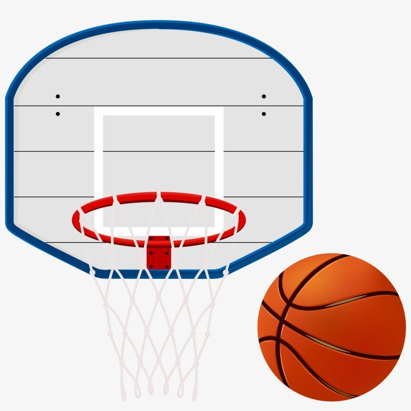 Basketball Hoop Clip Art Image - Basketball Hoop Clipart Transparent, transparent png #68422