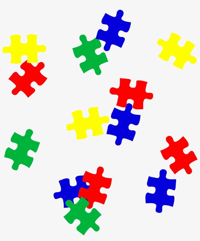 Autism Vector Puzzle Piece Png Royalty Free Stock - Puzzle Piece Autism Clipart, transparent png #68494
