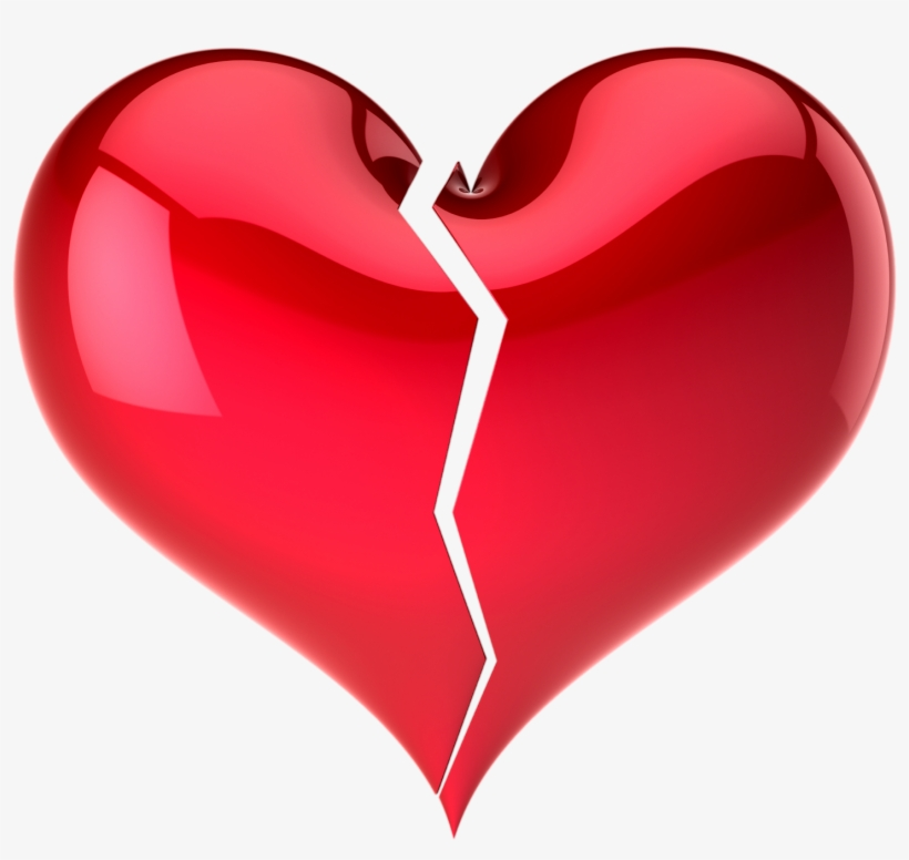 Heart Png Iamges Clipart Free Download With Transparent - Broken Heart Jpg, transparent png #68545