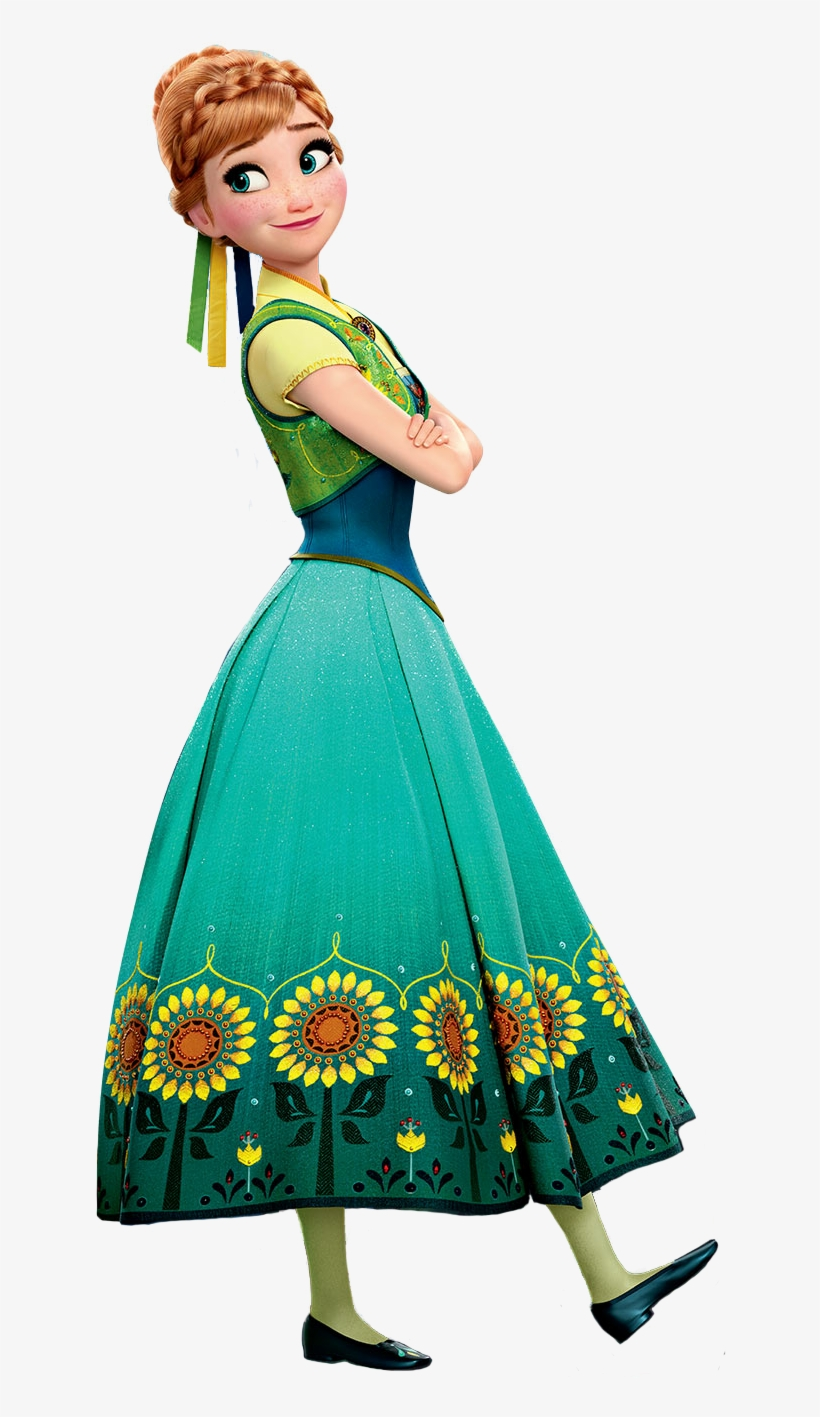 Frozen Png Pictures Free - Frozen Fever Anna, transparent png #69166