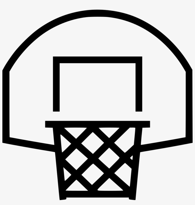 Basketball Hoop - - Basketball Hoop Icon Png, transparent png #69523