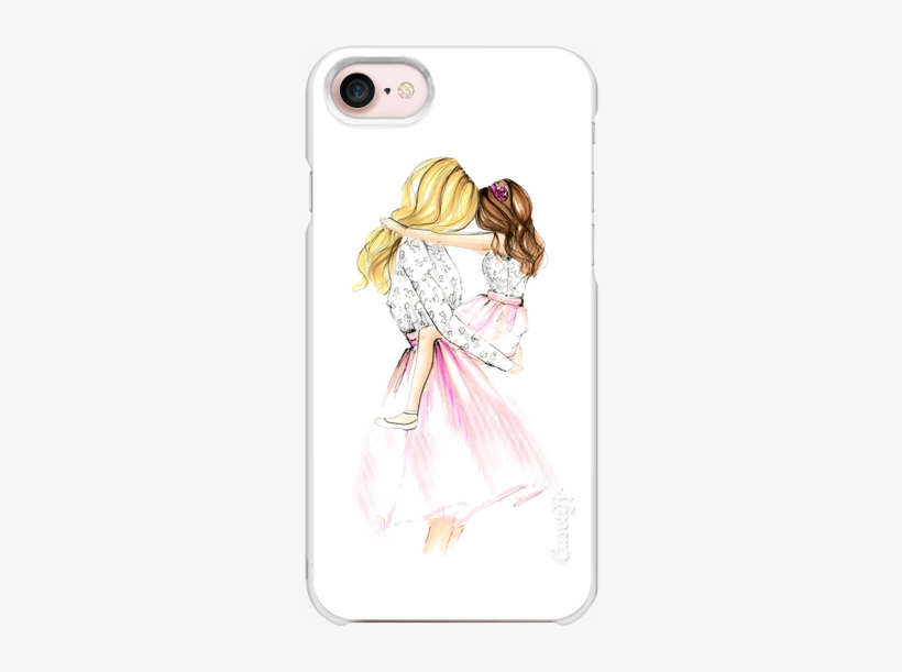 Casetify Iphone 7 Snap Case Mamá E Hija Con Frases Free