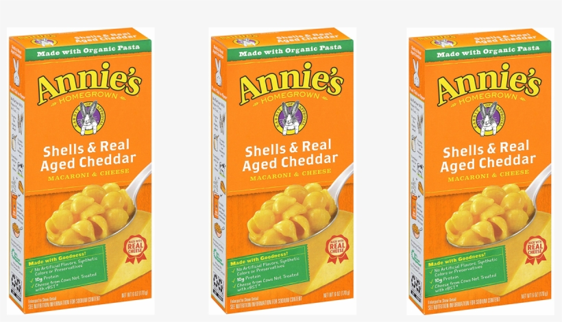*hot* Annie's Mac & Cheese Only 29¢ At Target - Annies Homegrown Organic Snack Mix Bunnies Cheddar, transparent png #600305
