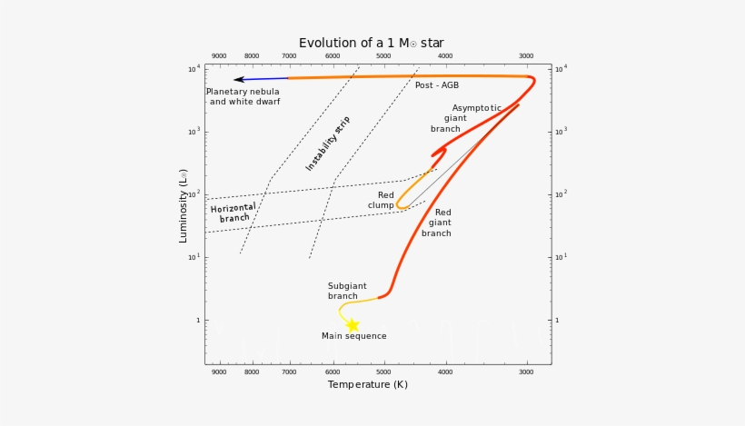 Sun-like Stars Have A Degenerate Core On The Red Giant - Asymptotic Giant Branch Star, transparent png #600613