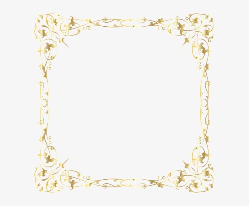 Decorative Border Transparent Png Image - Art Deco Frame Png, transparent png #600814