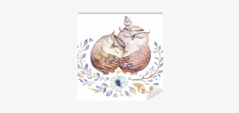 I Love You - Love U Owl, transparent png #602545