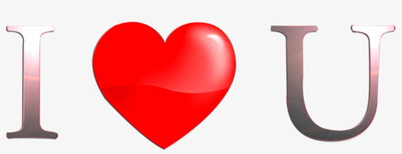 Heart I Love You Red Png Image - Heart I Love You Png, transparent png #602567