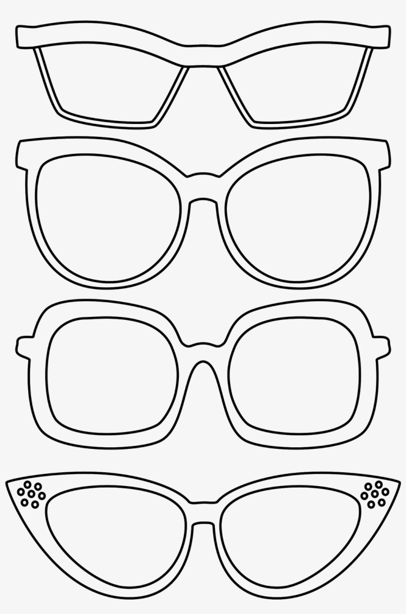 Picture Royalty Free Library Drawing Sunglasses Glass
