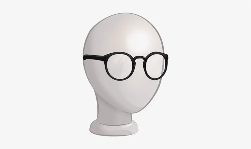 C 4mgeneric S4glasses Roundlensglasses Plasticgreyblack