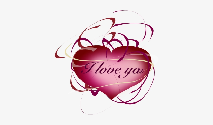 I Love You With Hearts, Part - Hearts Saying I Love You, transparent png #603189