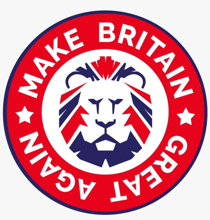 Make Britain Great Again Logo Vector Mbga Lion - Make Britain Great Again Logo, transparent png #603434