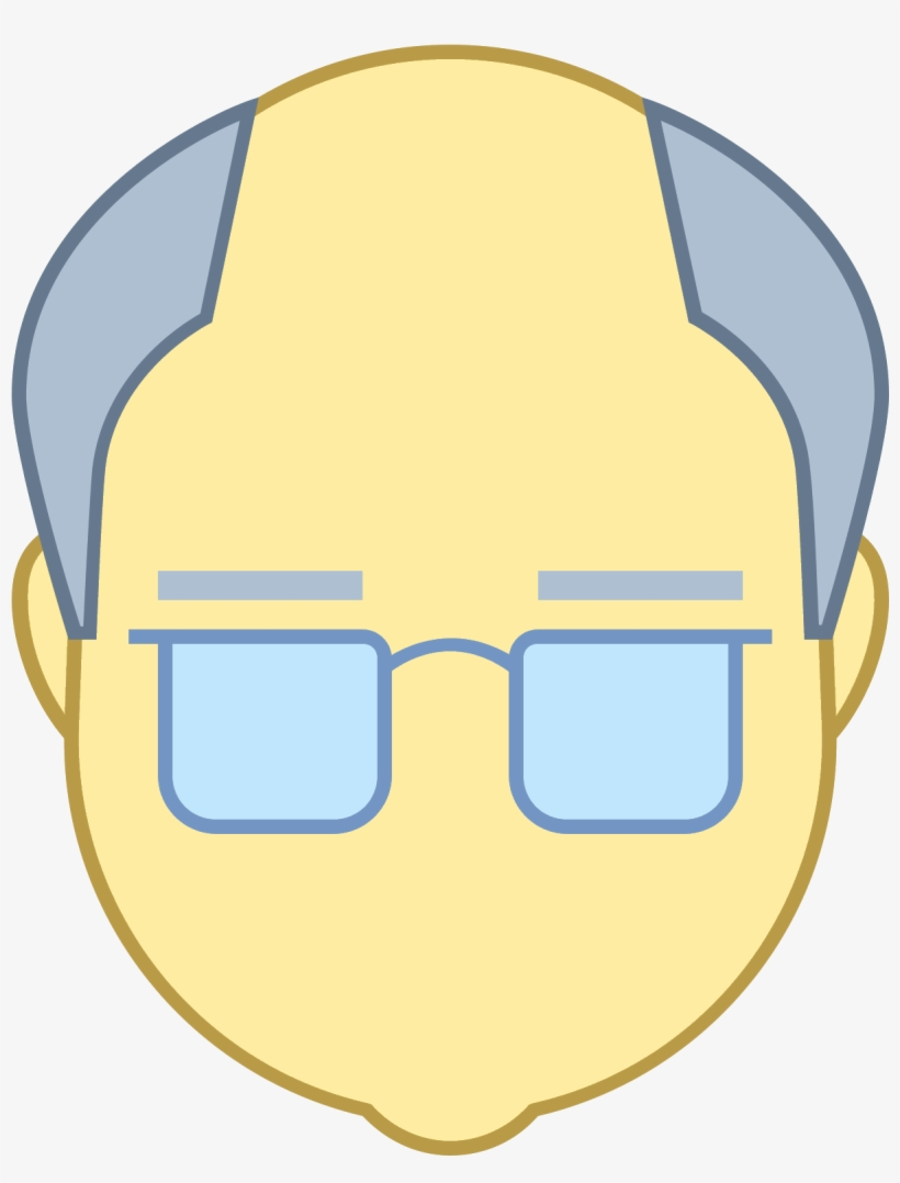 Old Man Icon - Icon, transparent png #603793