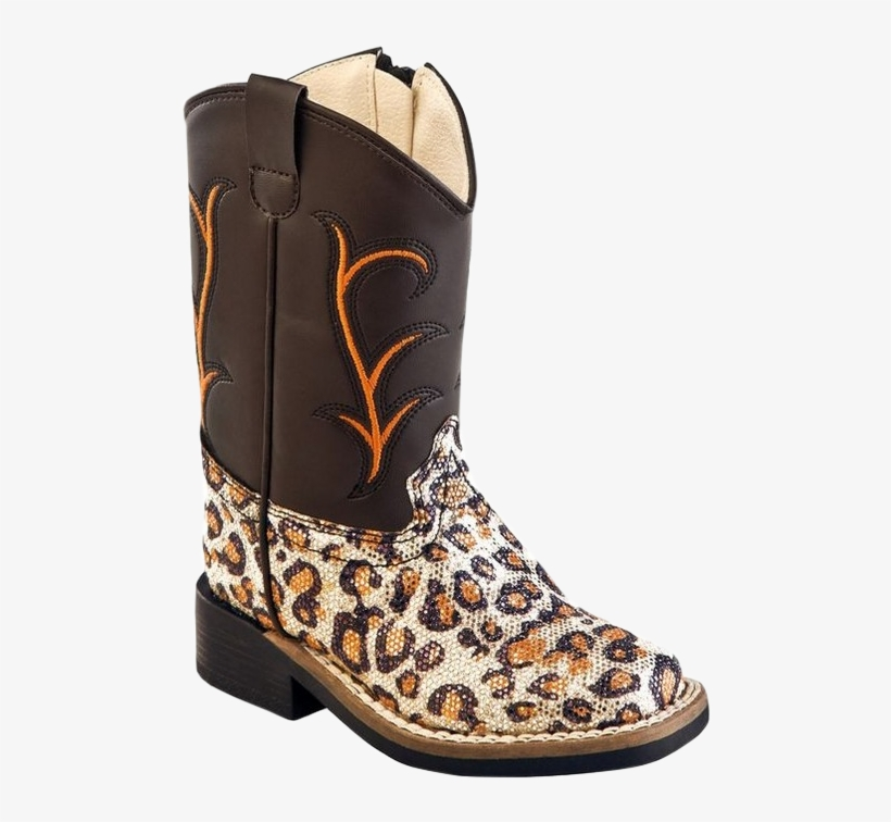 Brown Western Boots By Old West - Brown, transparent png #606167